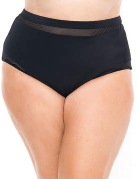 Boutique + + Brief Swimsuit Bottom-Plus