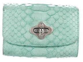 Emilio Pucci Snakeskin Compact Wallet
