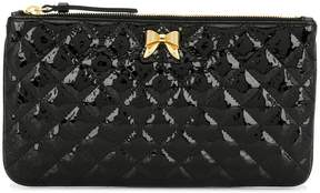 Moschino quilted clutch bag