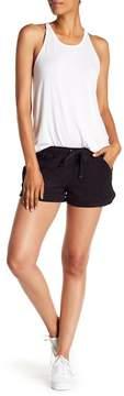 David Lerner Suede Micro Shorts