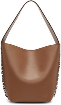 Givenchy Tan Infinity Bucket Bag