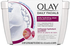 Olay Daily Facials Daily Clean 4-in-1 Water Activated Cleansing Cloths