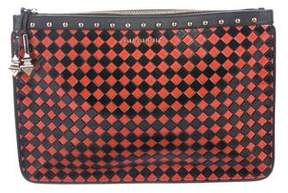 Givenchy Checkered Clutch