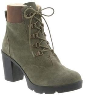 BearPaw Women's Marlowe Lace-up Ankle Boot.