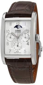 Oris Rectangular Complication Silver Dial Men's Watch 582-7694-4061LS