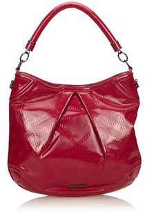 Burberry Pre-owned: Patent Leather Shoulder Bag. - PINK - STYLE