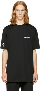 Marcelo Burlon County of Milan Black Milla T-Shirt
