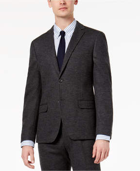 Bar III Men's Slim-Fit Gray Knit Suit Jacket, Created for Macy's