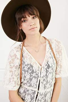 Forever 21 Braided Faux Leather Harness