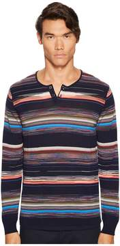 Missoni Riga Chevron Henley Men's Sweater
