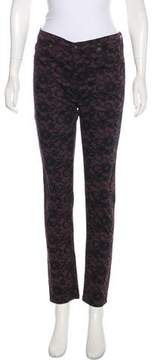 Adriano Goldschmied Mid-Rise Printed Pants