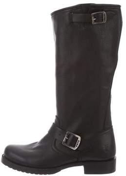 Frye Knee-High Biker Boots w/ Tags