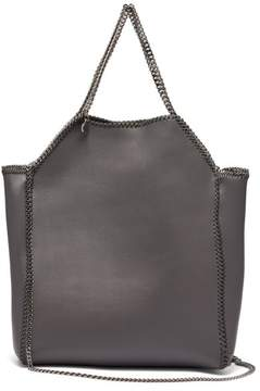 Stella McCartney Falabella Mini Faux Leather Tote Bag - Womens - Grey
