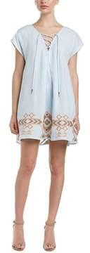 Dolce Vita Roxanne Linen-blend Shift Dress.