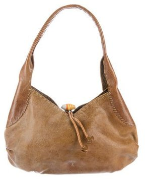 Henry Beguelin Aged Leather Hobo