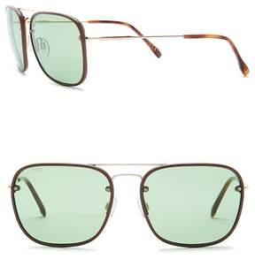Tod's 58mm Navigator Sunglasses