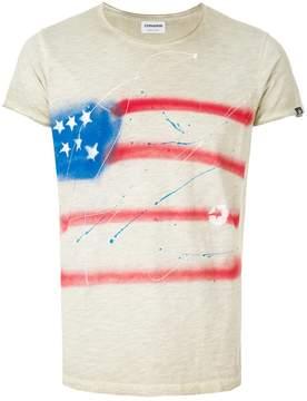 Converse abstract American flag print T-shirt