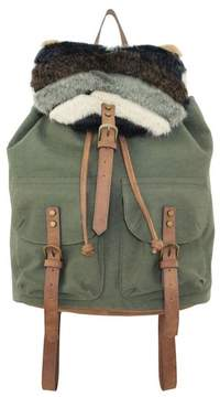 T-Shirt & Jeans Woodside Bloom Faux Fur Large Backpack