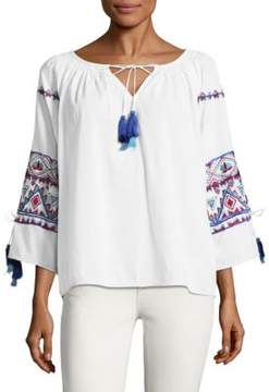 Kas Suzie Embroidered Top