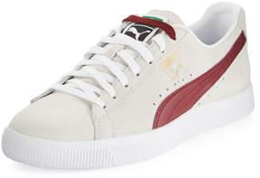 Puma Clyde Suede Premium Core Sneaker, White