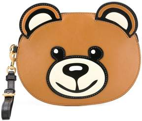 Moschino Teddybear clutch bag