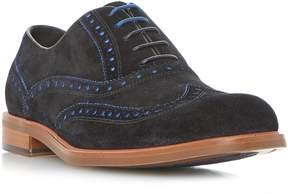 Dune London PEREZ - BLACK Color Pop Brogue Shoe