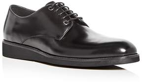 Karl Lagerfeld Men's Leather Plain Toe Oxfords