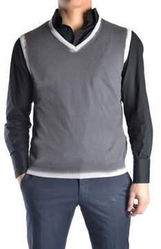 Massimo Rebecchi Men's Grey Cotton Sweater.