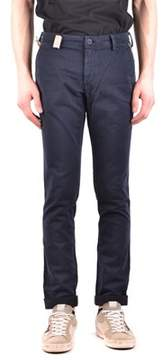 Mason Men's Blue Cotton Pants.