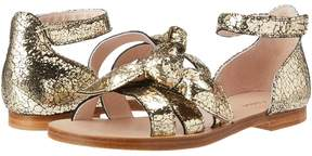 Chloé Kids Mini Me Leather Sandals Girls Shoes