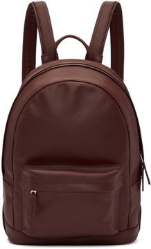Pb 0110 Burgundy Mini CA 7 Backpack