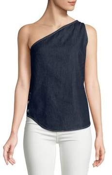 Calvin Klein Jeans Alexa One-Shoulder Top