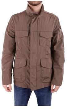 Peuterey Men's Brown Polyester Outerwear Jacket.