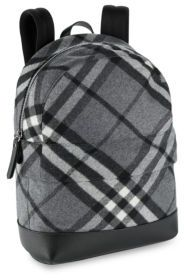 Burberry Kid's Nico Check Print Backpack