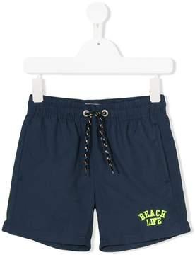 Vingino drawstring logo swim shorts