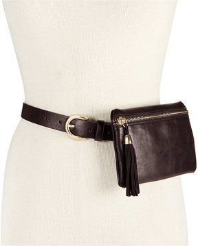 Inc International Concepts Tassel Zip Fanny Pack, Created for Macy's