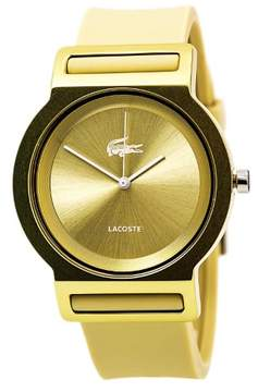 Lacoste Tokyo Womens Fashion Gold Watch Silicon Strap 2020048