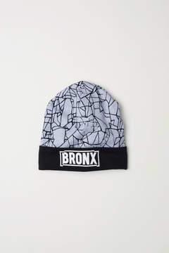 H&M Printed Jersey Hat - Black
