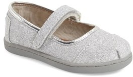 Toms Infant Girl's 'Tiny Glimmer' Mary Jane Flat