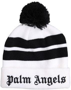Palm Angels Wool Logo Beanie
