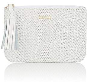 Barneys New York WOMEN'S SMALL LEATHER ZIP POUCH
