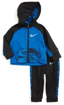 Nike Infant Boy's Therma-Fit Fleece Hoodie & Pants Set