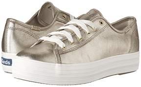 Keds Triple Kick Metallic Suede Women's Lace up casual Shoes
