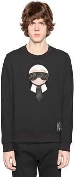 Karl Patches Wool Sweatshirt