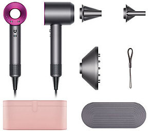 Ships 8/30 Dyson Supersonic Hair Dryer w/ Case & 3 Attachments