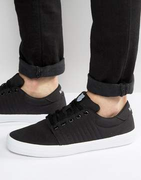 K-Swiss Backspin Sneakers In Black
