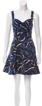 Camilla And Marc Abstract Print Mini Dress w/ Tags