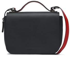 Brunello Cucinelli Two-Tone Leather Shoulder Bag
