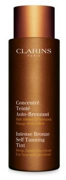 Clarins Intense Bronze Self-Tanning Tint For face and Decollete/4.2 Fl. Oz.