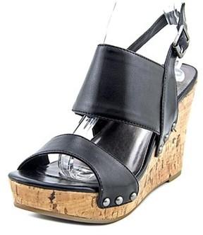 Material Girl Mmona Women Open Toe Synthetic Wedge Heel.